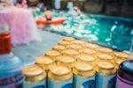 Canva Beer Can Lot in Shallow Photo