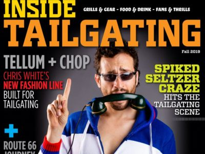 Seltzers, sportswear and more in Inside Tailgating's fall magazine 3