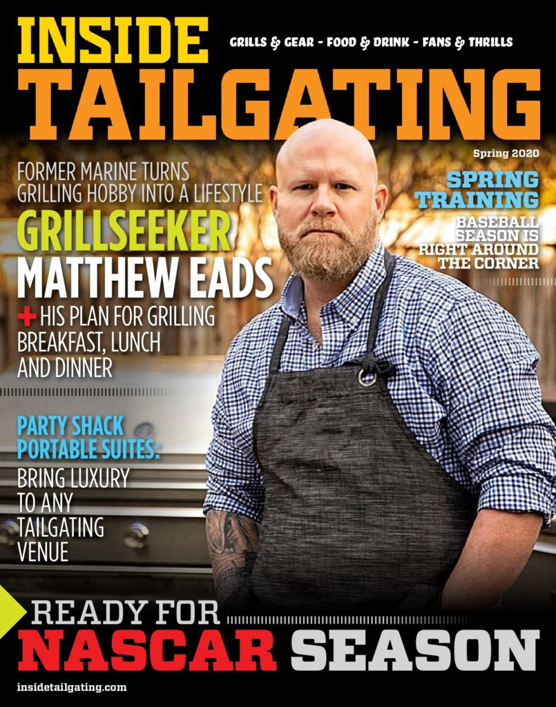Inside Tailgating Magazine Spring 2020 Cover