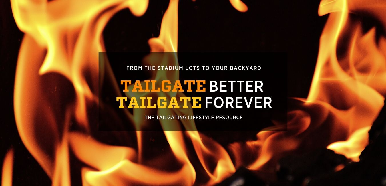 Flames behind Inside Tailgating homepage cover