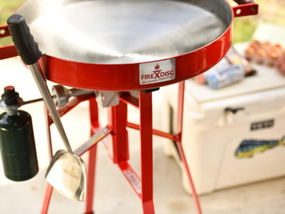 Firedisc expands outdoor cooking options at home or on the go 2