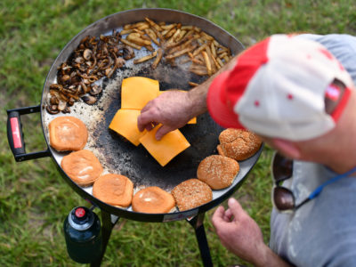 Firedisc expands outdoor cooking options at home or on the go 3