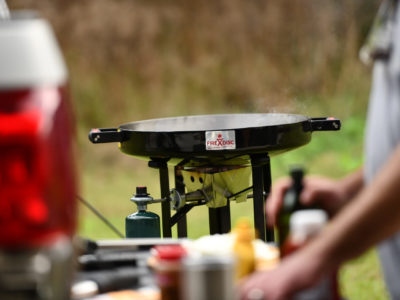 Firedisc expands outdoor cooking options at home or on the go