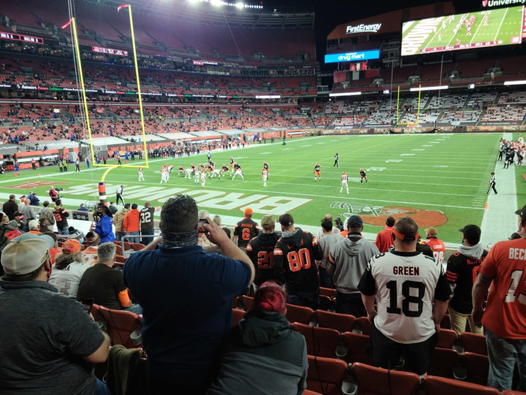 Football in 2020: Cleveland Browns 4