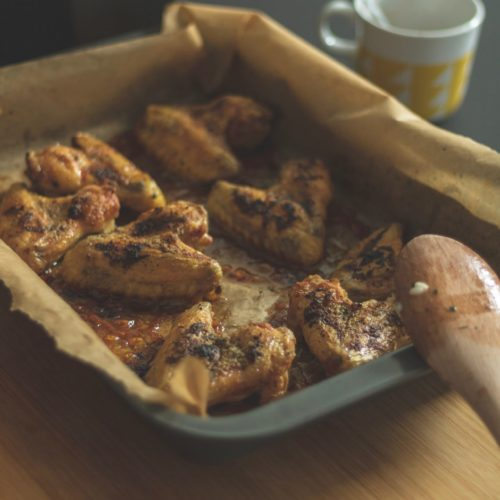 The Perfect Baked / Grilled Chicken Wings