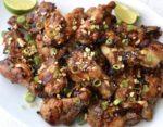 honey ginger chicken wings