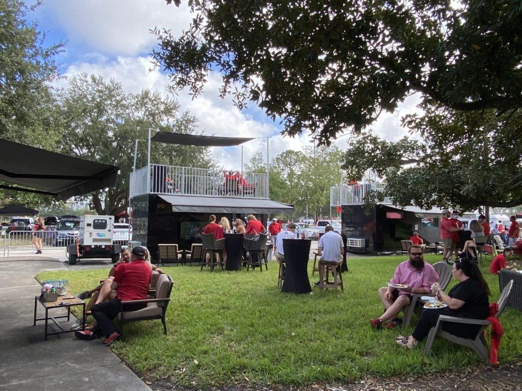 Party Shack: hospitality company's playbook for safe tailgating 2