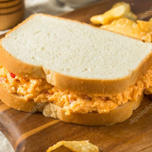 Homemade Pimento Cheese Sandwich