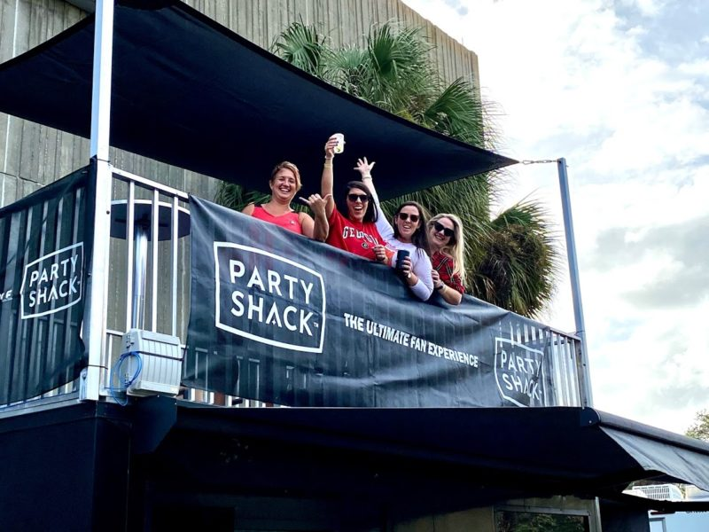 Party Shack: hospitality company's playbook for safe tailgating