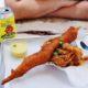 2021 Super Bowl Food Showdown: Big Ray's Lobster Corndog vs. Joe's KC Z-Man 1