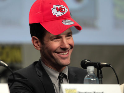 2021 Super Bowl Fans -- Paul Rudd Chiefs