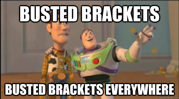 busted bracket meme