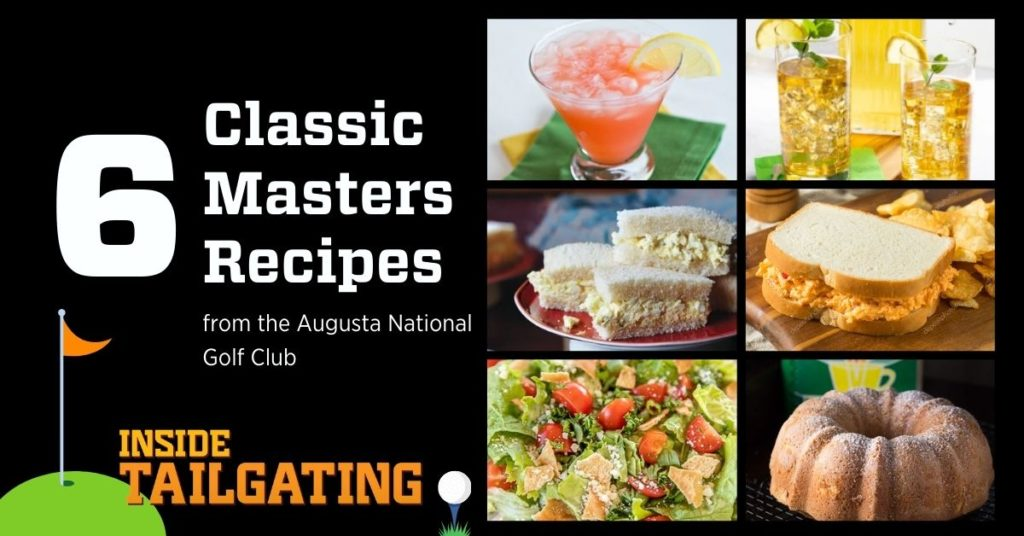 6 classic masters recipes from the Augusta National Golf Club