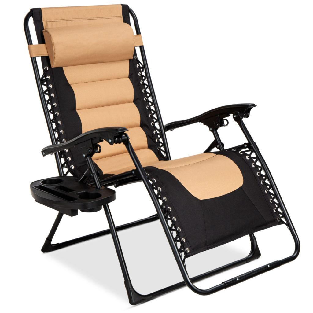 Best Choice Oversized Padded Zero Gravity Chair