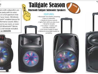 Amp up Super Bowl party with these speakers