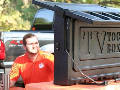 TOC box makes TV-watching at tailgates easy