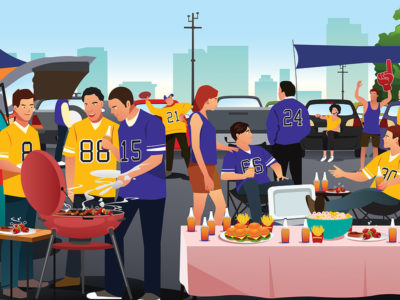 Tailgate Party Supplies: 9 Homegating Decoration Ideas