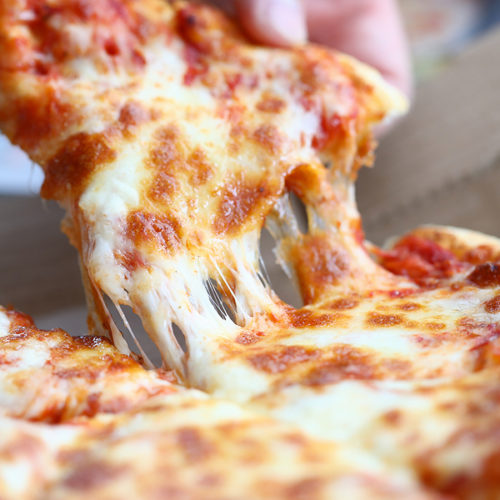 3-Cheese Sausage Pizza