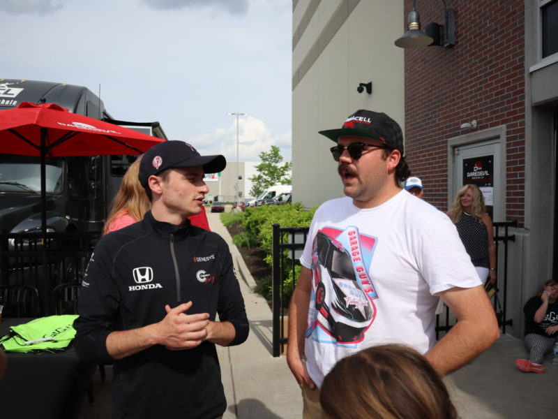 Pre Indy 500 Tailgating: The American Cornhole League's Cornament of Champions 1