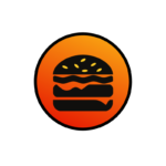 IT Food Burger icon gradient