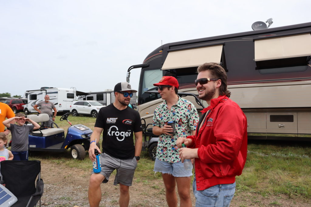 NSS tailgating with Ricky Stenhouse Jr