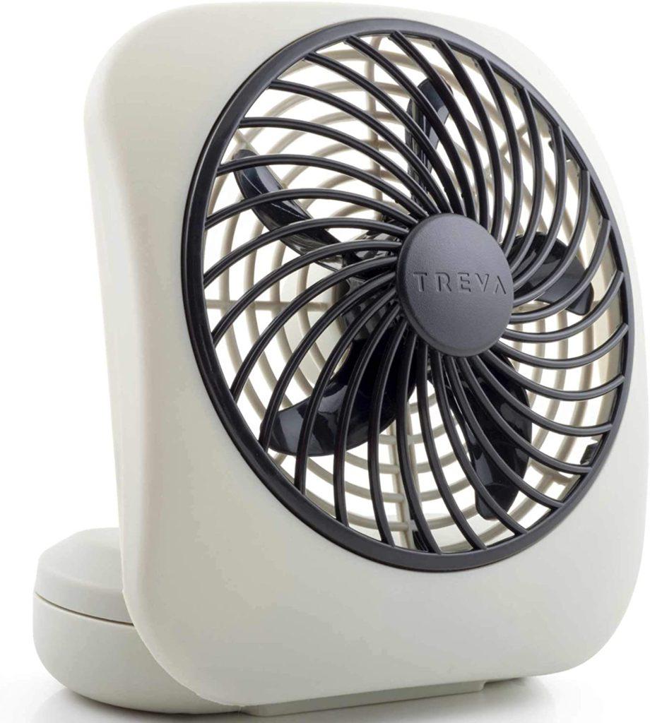 Portable Battery-Powered Fan