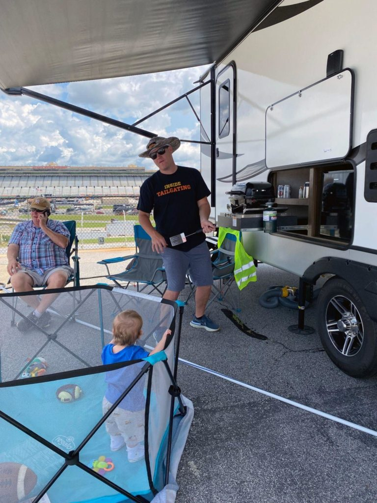 NASCAR Camping: The Perfect Family Tailgating Weekend