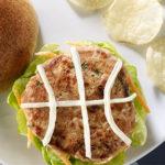 Basketball Turkey Burger