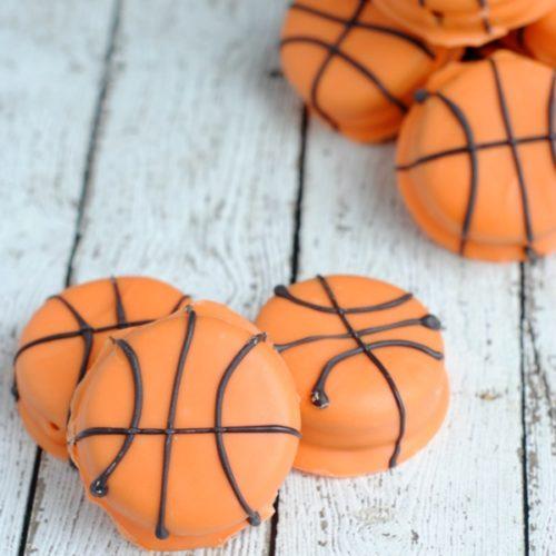 Slam Dunk Basketball Cookies