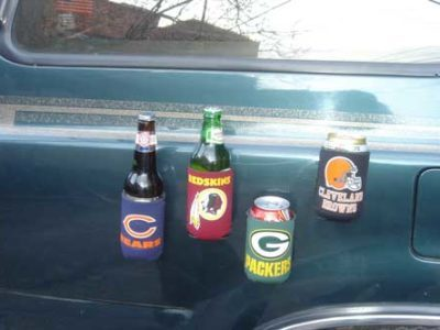 Our Favorite Coozies That Will Ensure You Never Lose Your Beer Again
