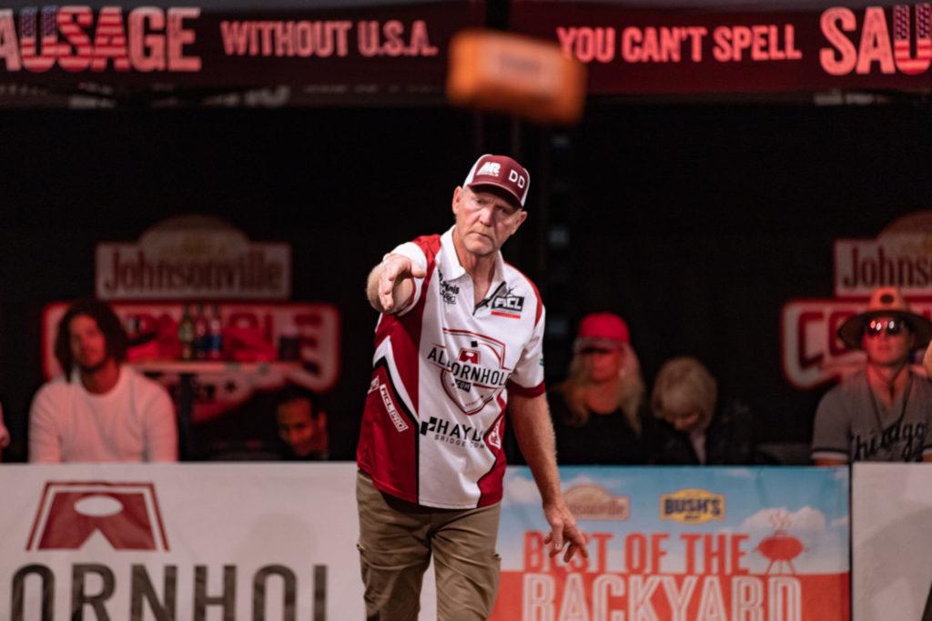 Daymon Dennis throws