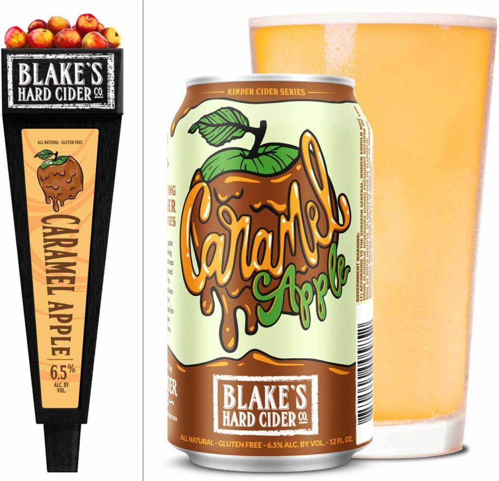 Blake's Hard Cider Caramel Apple